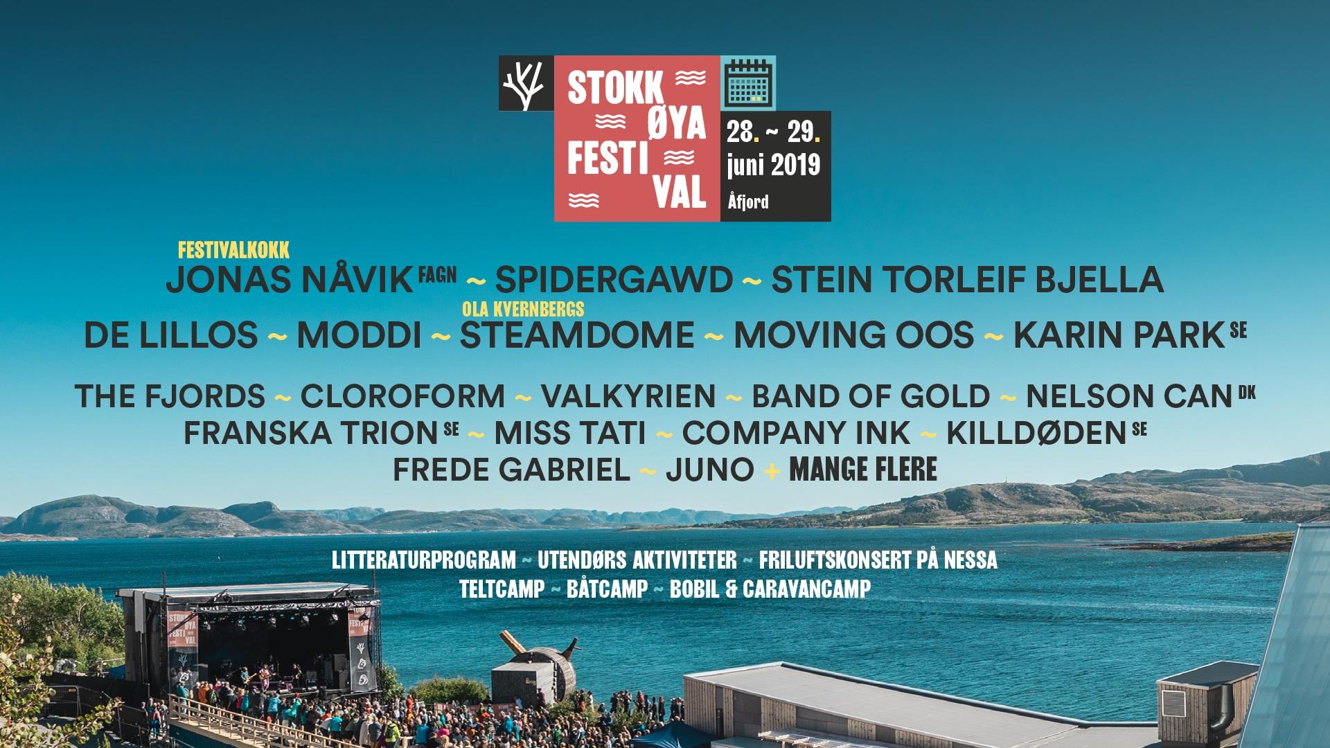 Stokkøya Festival - Festivalledelse, markedsføring, miljø m.m
