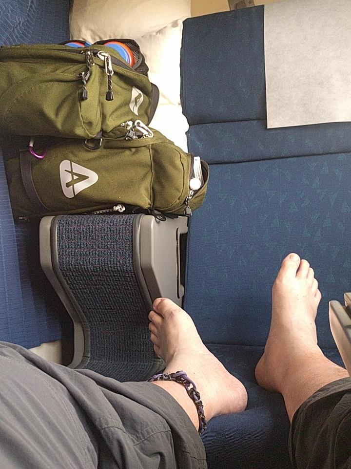 Tyger on the Amtrak