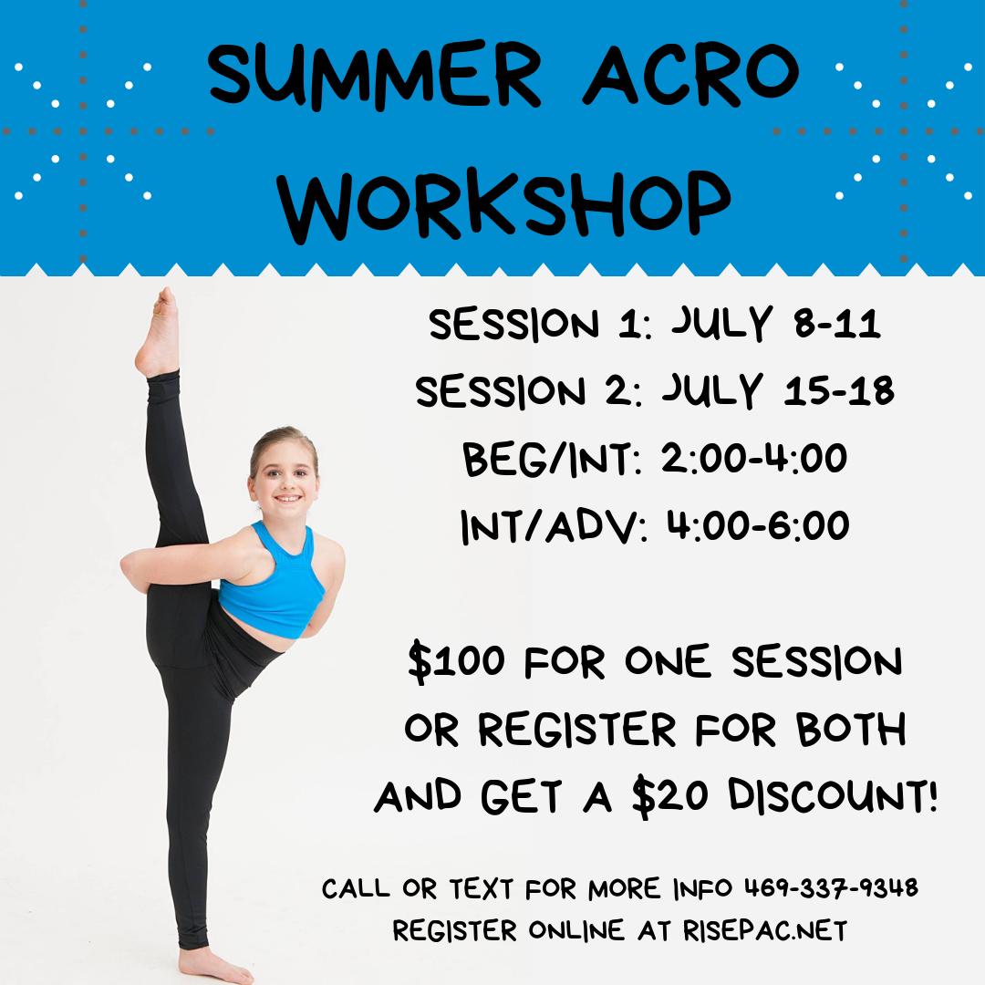 Acro Dance Workshop