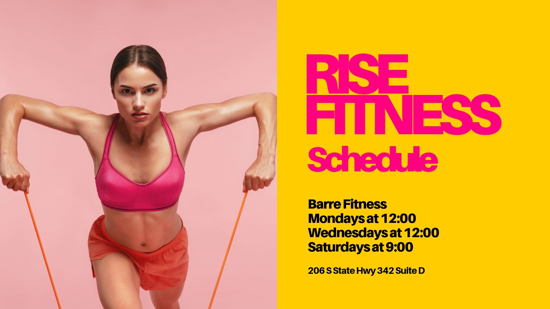 Come join us as we launch RISE Barre Fitness! Bring a yoga mat, water, and wear your socks and prepared to get sweaty and fit! Classes will run 45-50 minutes. We will have an activity area set up for kids, so feel free to bring them along, they might even want to join in!   Class costs: $10 for drop in, $40 for 5 class card, or $70 a month unlimited (that's less than $6.00 a class!)