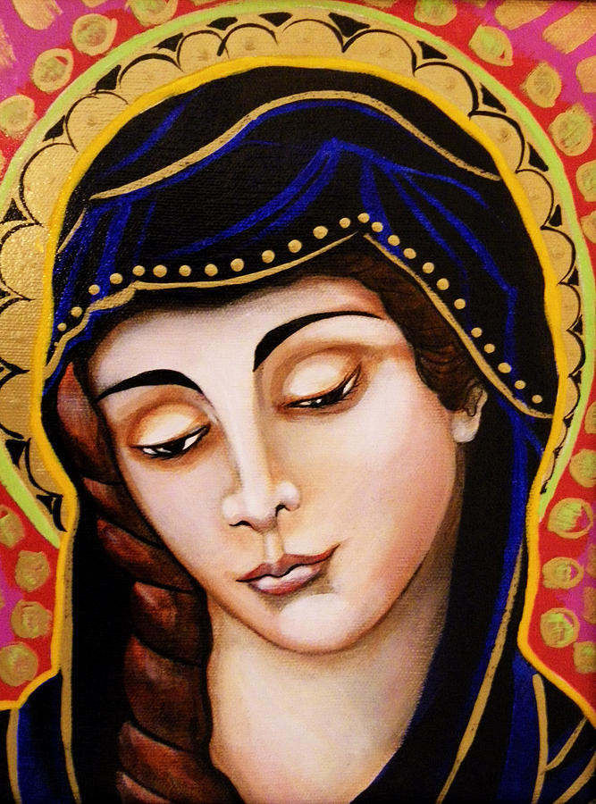 Our Lady of Sorrows, by Christina Miller.