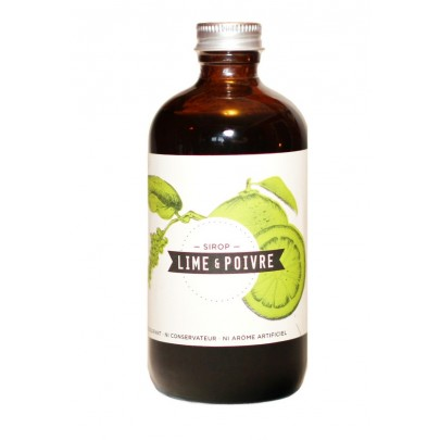 Les Charlatans - Lime & Pepper Syrup 235ml