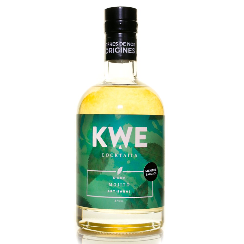 Kwe Cocktails - Mojito Syrup 375ml
