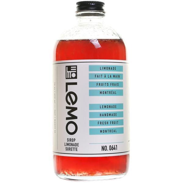 LEMO Lemonade - Sour Lemonade Syrup 473ml