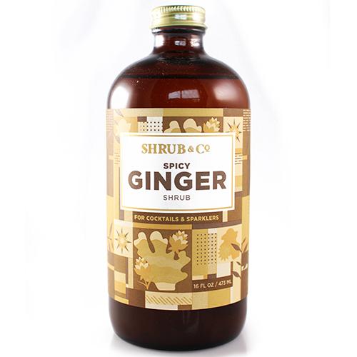 Shrub & Co - Spicy Ginger 473ml