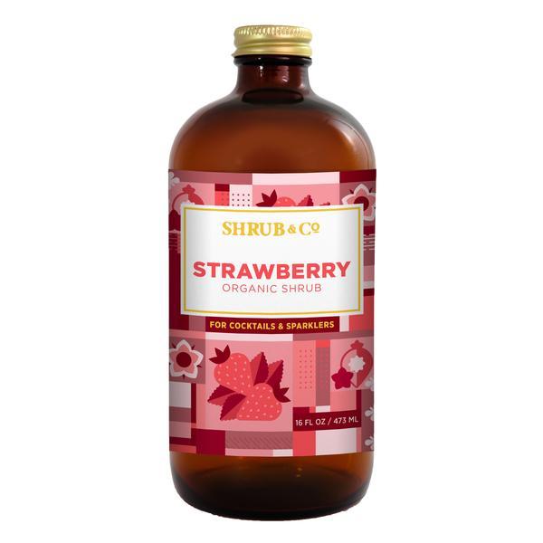 Shrub & Co - Strawberry Meyer Lemon 473ml
