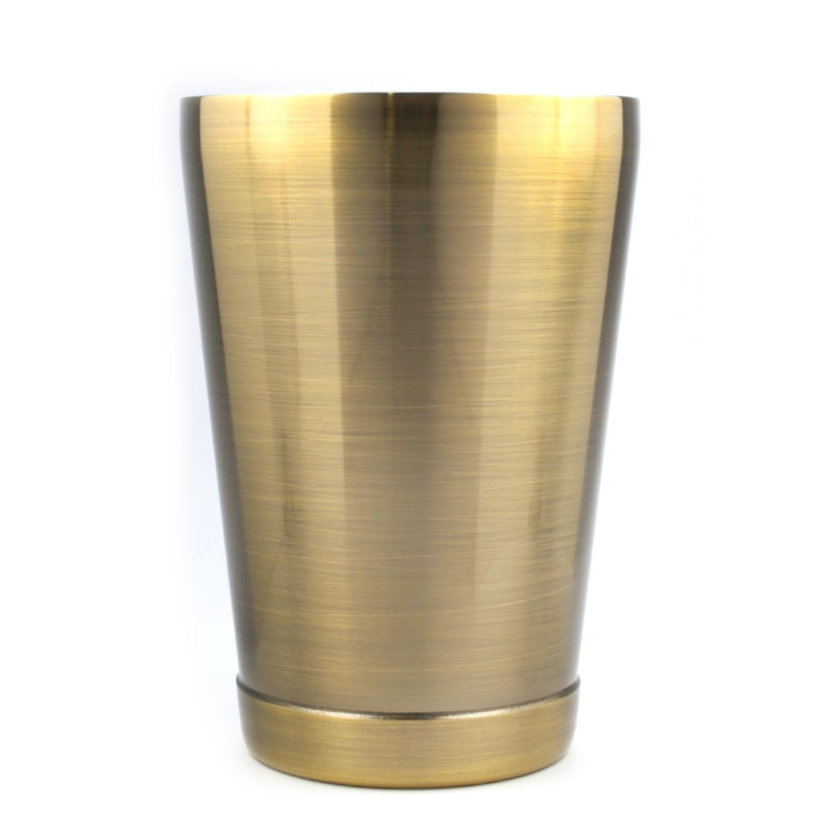 Boston Shaker - Cheater Antique Brass 16oz