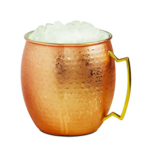 Ice Bucket Moscow Mule - Hammered Copper