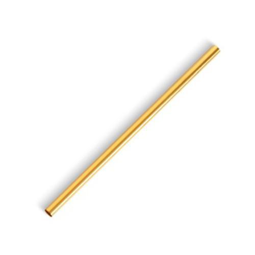 Drinking Straws - Steel Straw Gold