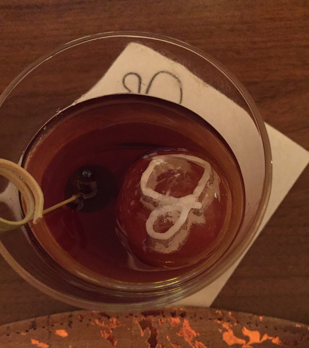 """Above: The Serpico cocktail at Giada's, in Las Vegas  A quick trip to Las Vegas  Last Thursday through Saturday, I was in Las Vegas for my job to exhibit at a medical conference. Exhibiting is fairly simple and less hours than managing a conference. Thus, it leaves me more time and energy to do things when I'm not working. This trip was booked about 2 weeks before I left, and luckily, I was able to make the most of my time there - in my opinion anyway. I quickly made a dinner reservation and a booked a show ticket.   Thursday : Thursday was a weird day, my flight left at 7:05 am and arrived in Las Vegas at 9 am. I checked in, checked out the exhibit space, and by the time I was out of the hotel searching for lunch fare, it was 10:45 and I was not looking for breakfast or brunch, but it was still morning. I walked out of Planet Hollywood (the conference hotel, where I stayed) and vowed to stop at the first place that had availability That place was Hexx Kitchen and Bar at the Paris Hotel. I ate Chilaquiles and had a California beer of which the name escapes me. #FAIL. I know that is bad of me, to forget such an important detail. The chilaquiles were good and hit the spot between""""I want lunch but its still brunch in Vegas and I don't want to wait 15 more minutes to order a burger."""" My hanger was real.  After lunch, setting up, taking a nap in my hotel, then heading to  Polecats Aerial Fitness  for a silks class, I showered and headed to dinner at  Giada's . I had a reservation for one, but sat at the bar because that is what I prefer when I travel alone. The bartenders and the baristas behind the bars of the world are always happy to chat with solo diners. I've had some very interesting conversations and met some very nice people this way.  After a careful look at the menu, some reason I was not terribly hungry, I decided upon the duck prosciutto, the brussel sprouts crostini, the serpico cocktail, and I said yes to the bread service - which was amazing. There was a r"""