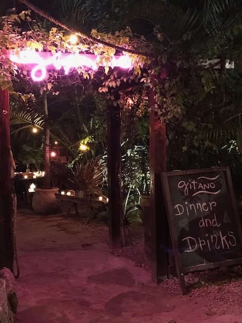 Cute and dreamy Gitano - go there for drinks.