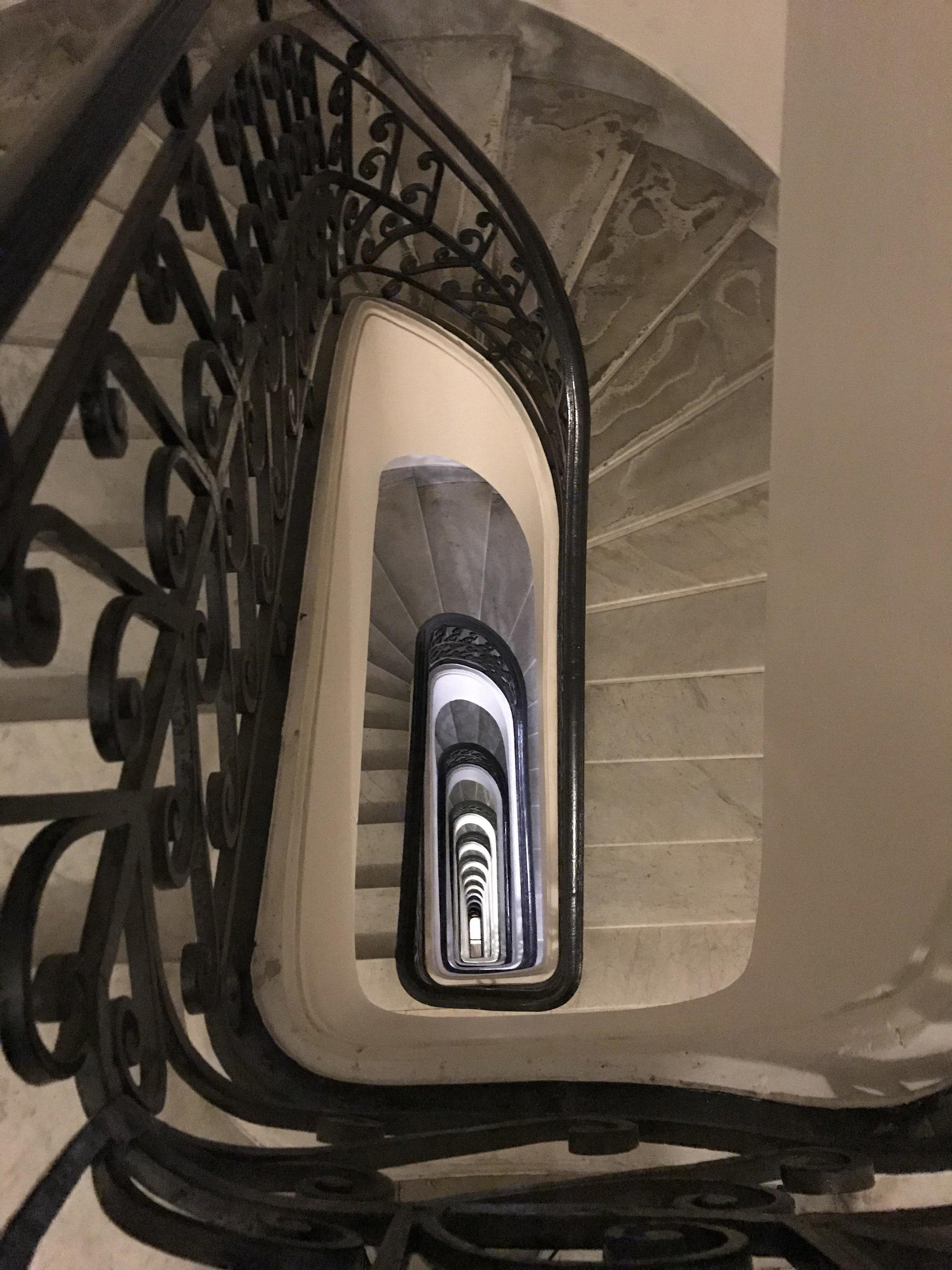 Palacio Barolo Stairs