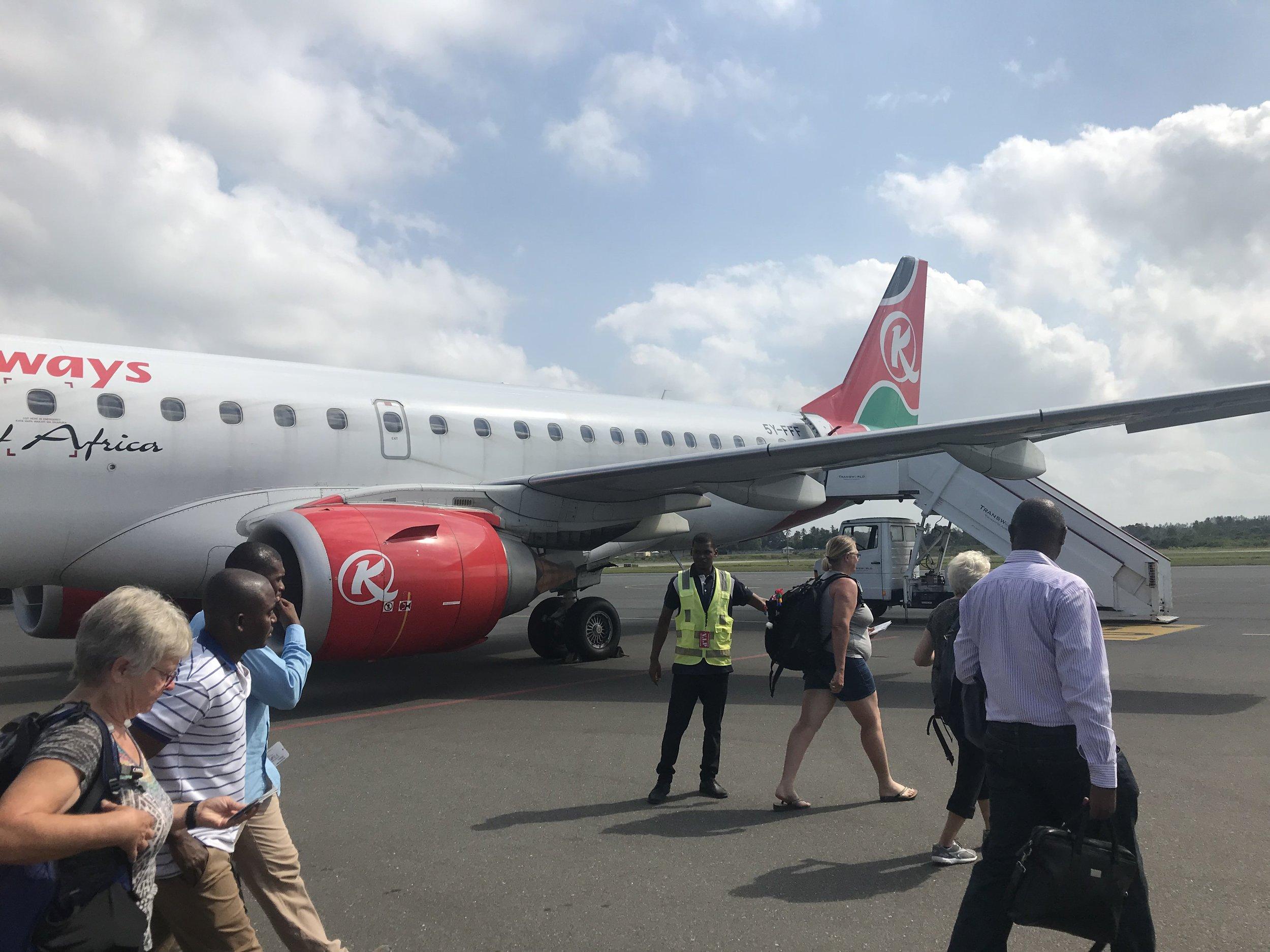 Leaving Zanzibar! :(