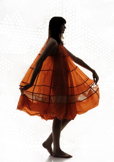 Parachute dress by Christopher Raeburn