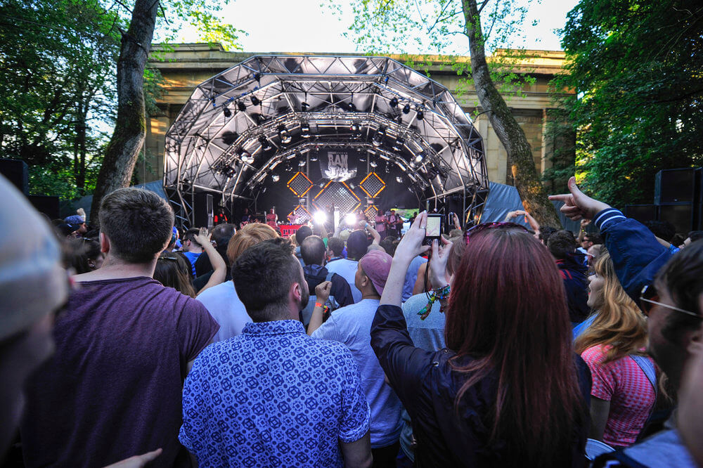 Festival Season - The Loop runs new campaigns every year, pioneering new technology and techniques for keeping people safe.