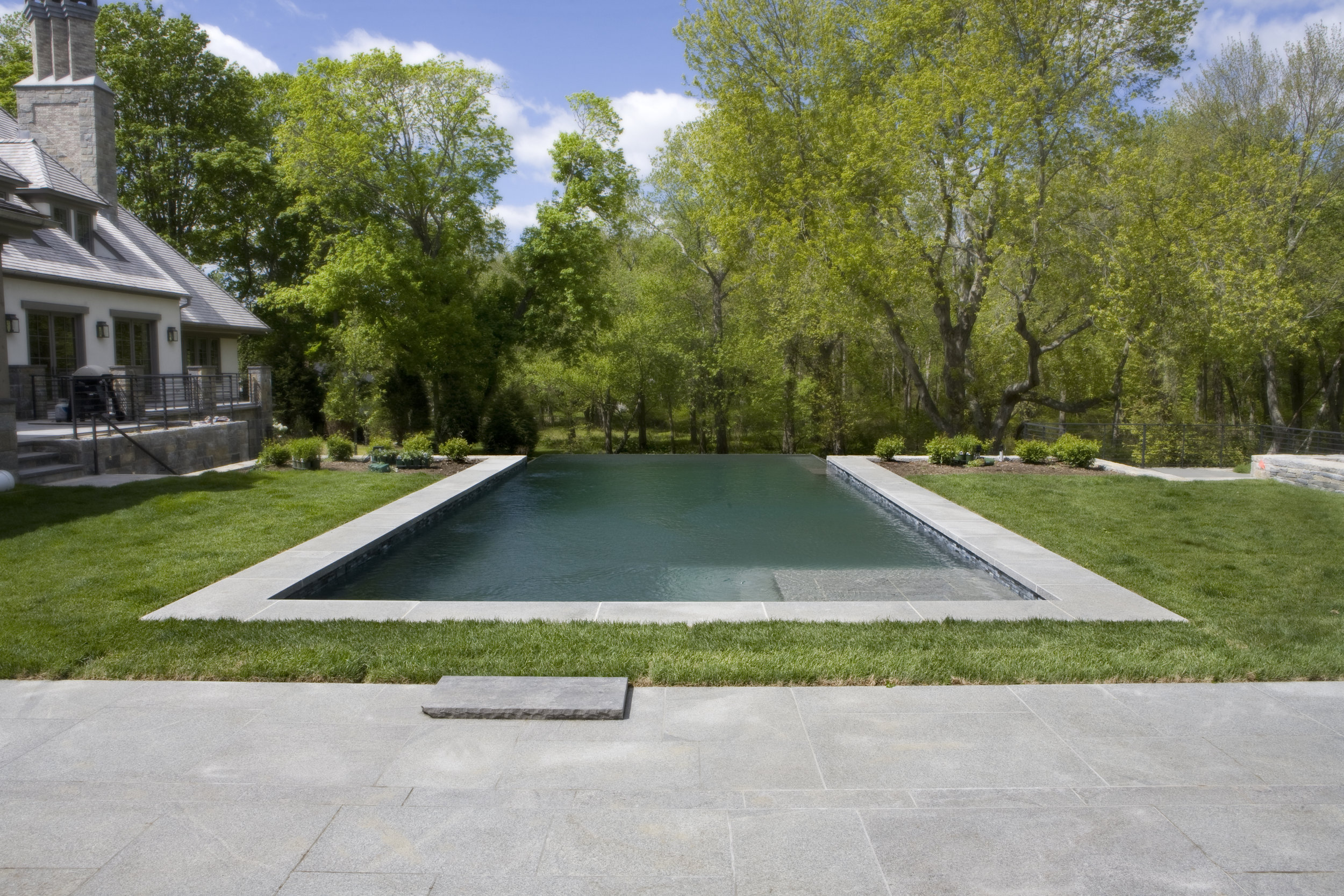 IMPERIAL GREY GRANITE POOL SURROUND