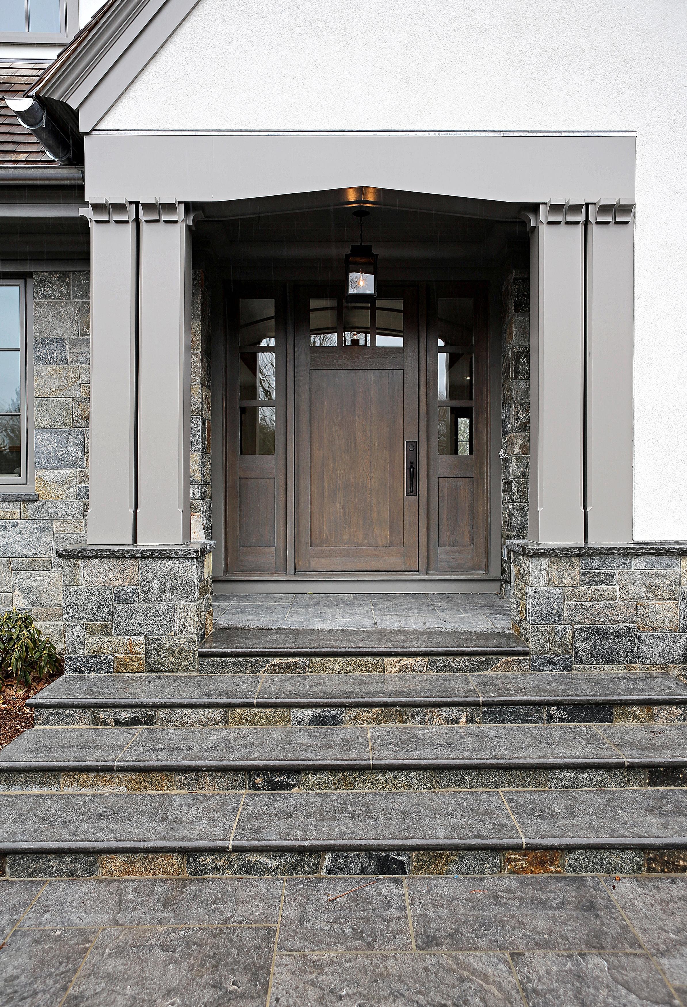 CHATEAU LIMESTONE STEPS, HONED