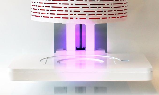 Allevi 6 bioprinter UV visible light LED photocuring
