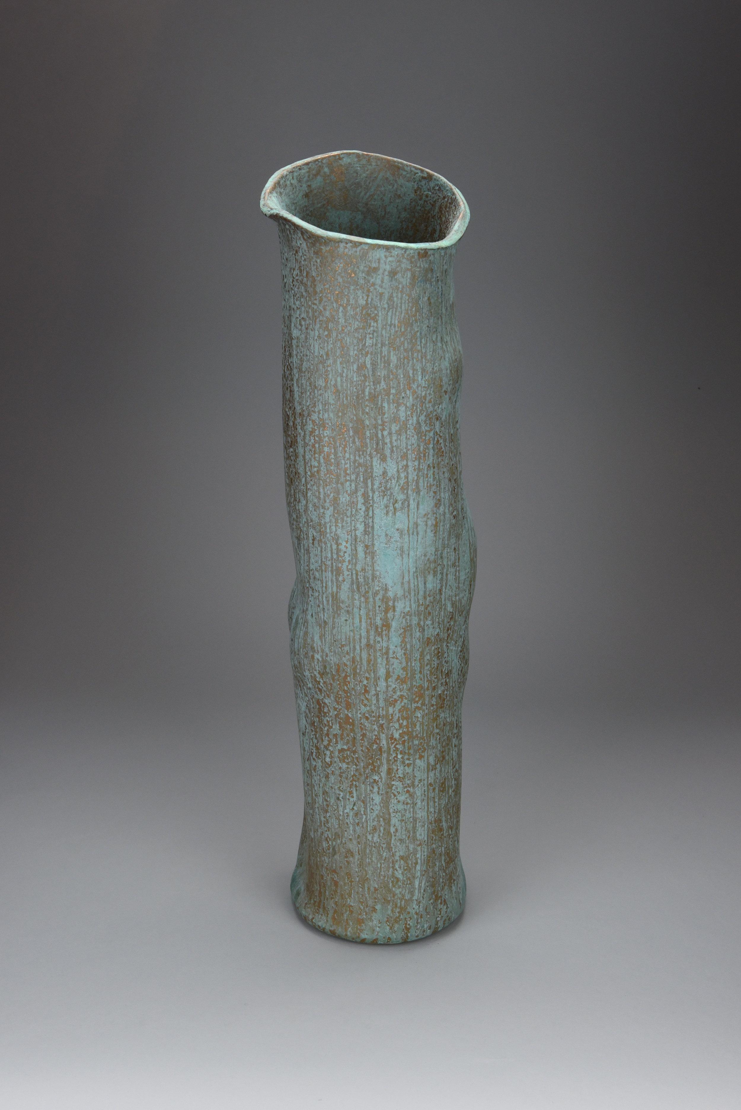 Tall Torso -  Bronze Glaze