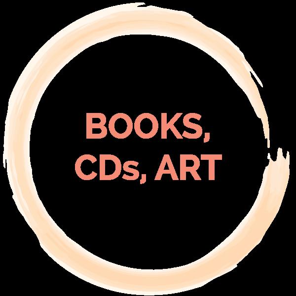 Books, CDs, Art