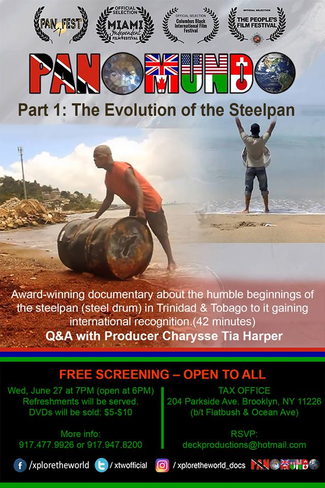 4-4:45PM  Panomundo Part 1-Documentary