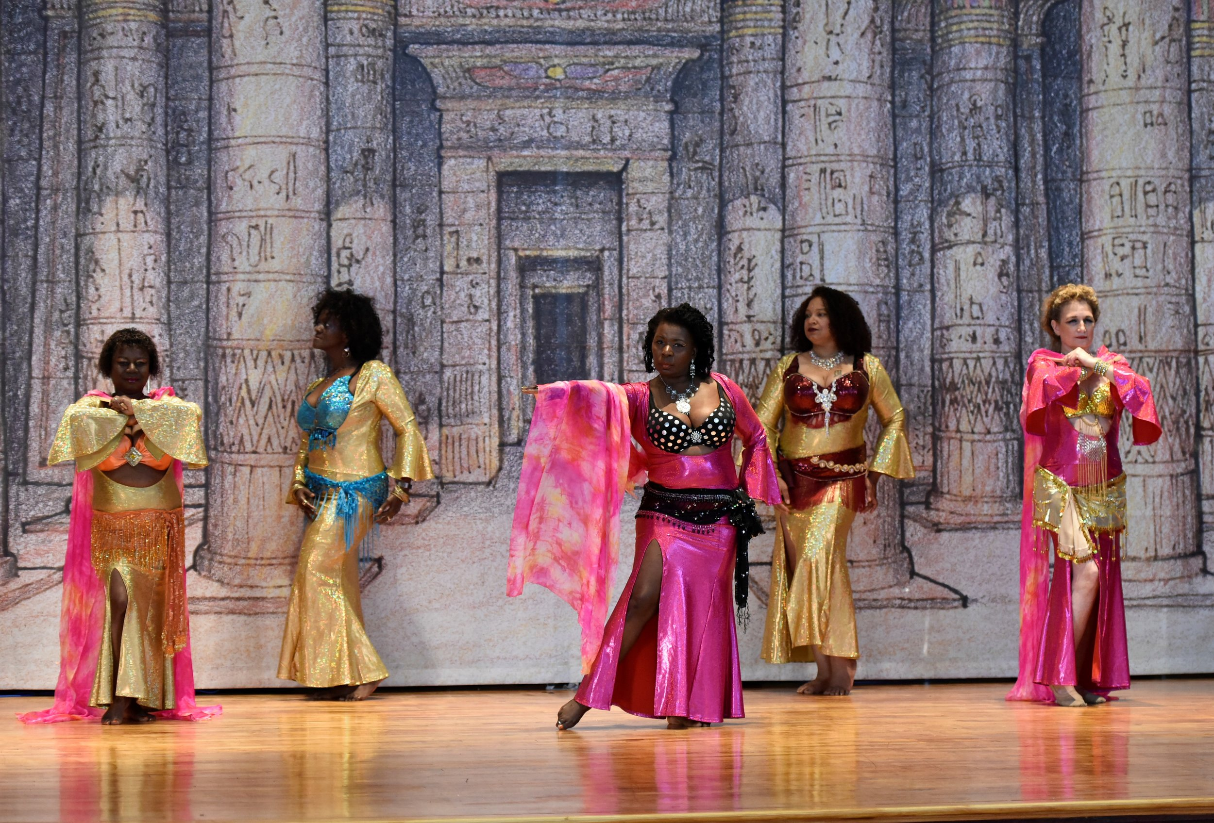 8:30-9PM  Egyptian Belly Dance w/ Audie & the Daughters of Het Haru