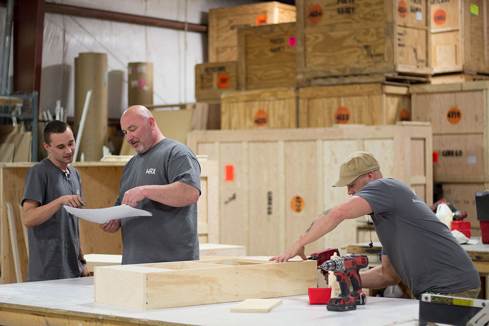 Engineering & Fabrication: - Our Team of Carpenters and Engineers are skilled in turning the innovative designs into reality by constructing exhibits on time and on budget.