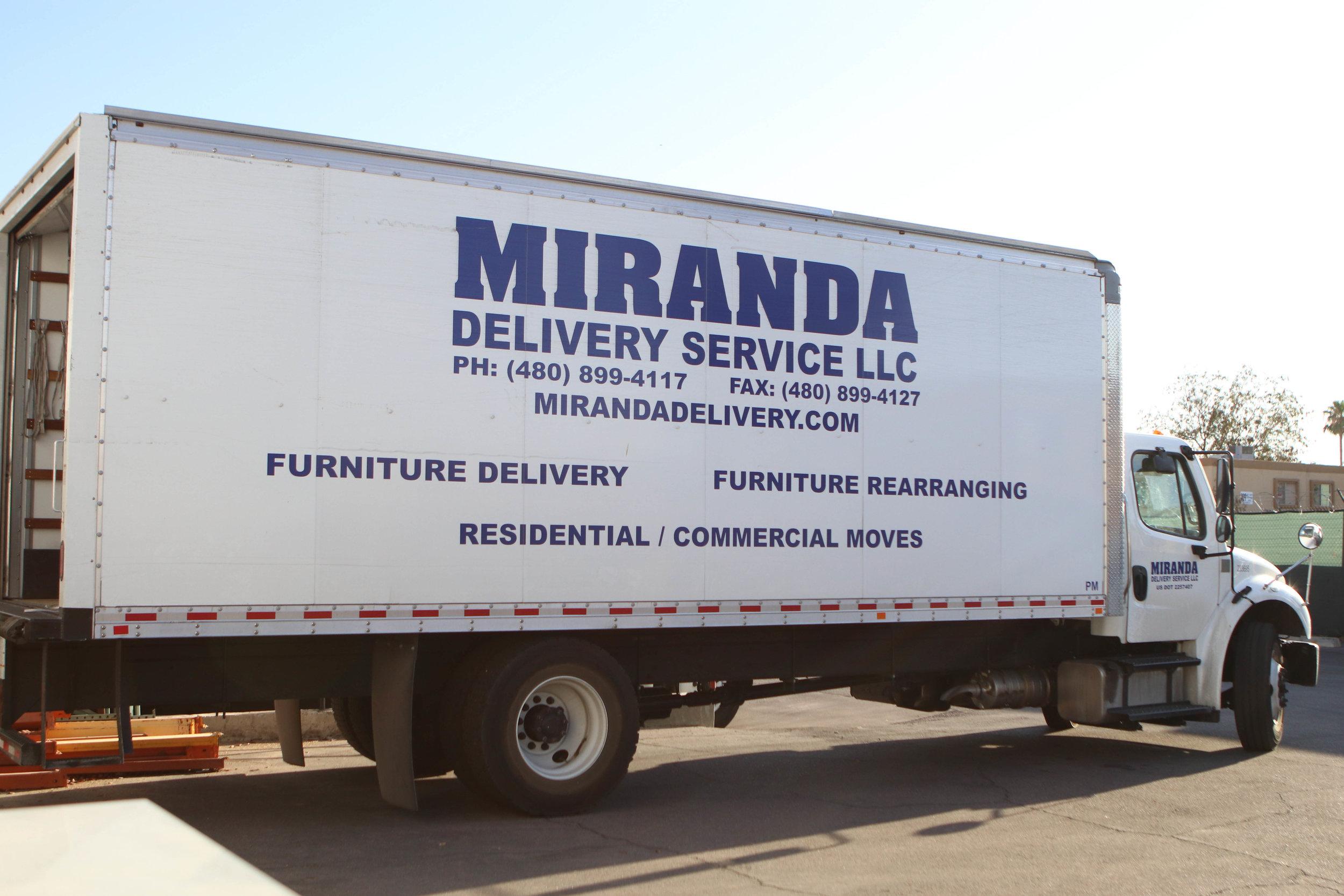 Phoenix Furniture Store Delivery Services Miranda Delivery Service