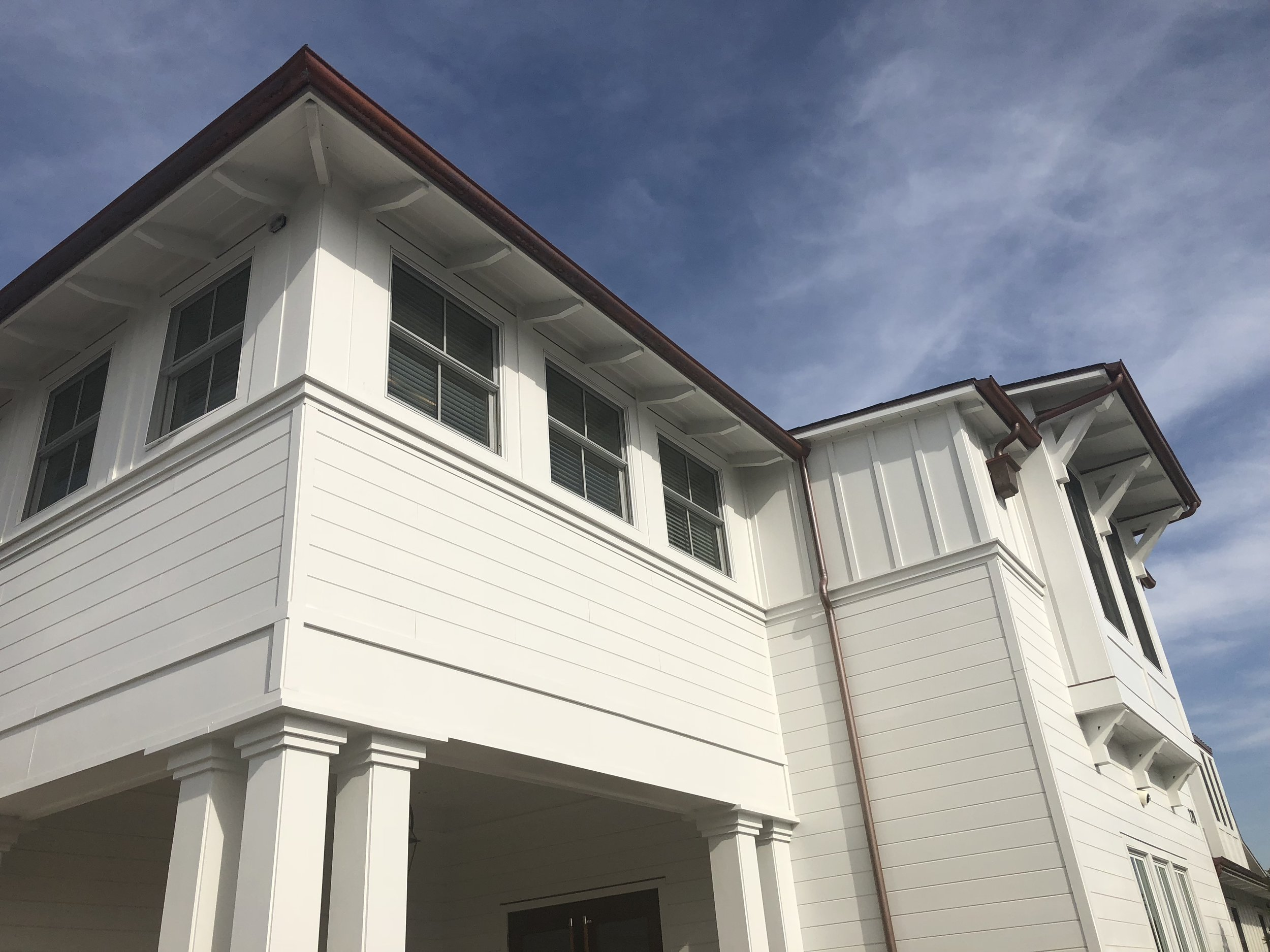 James Hardie Siding  Newport Harbor Yacht Club, Newport Beach, Ca