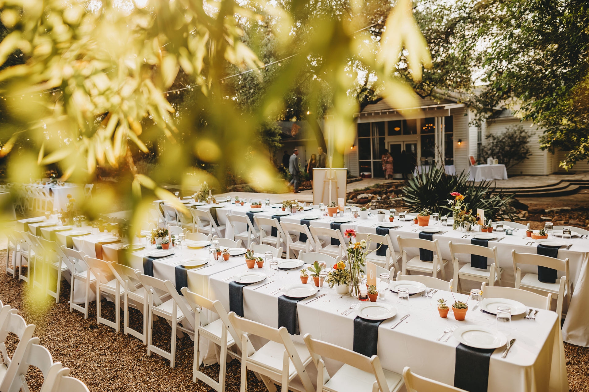 Reception Banquet Seating in Courtyard w Wall of Windows 2 copy.jpg