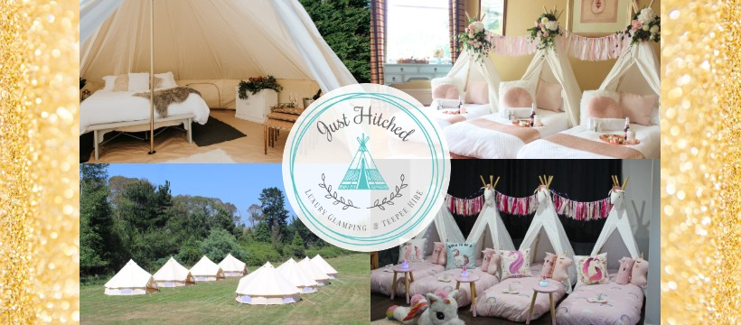 Just Hitched Glamping Sleepover Slumber Parties