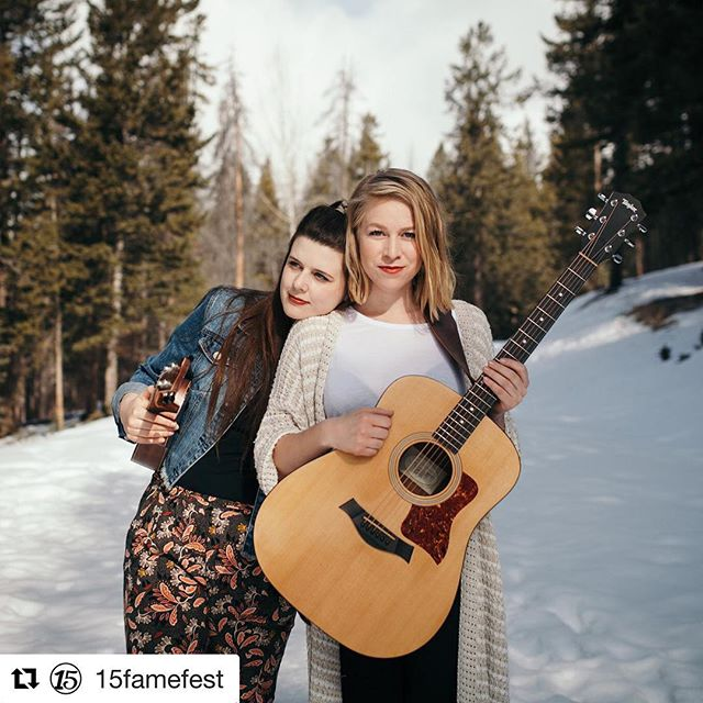 We're bringing our new album to @15famefest! Come visit us in Rosebud for a whole day of music and fun. 😎 #Repost @15famefest with @get_repost ・・・ For the past 3 years, Lauren Hamm and Alixandra Cowman have been touring across North America as the bluegrass-infused folk band known as @thedearhearts. Their highly anticipated second album will be released on August 17, and they cannot wait to share it at #15FameFest!