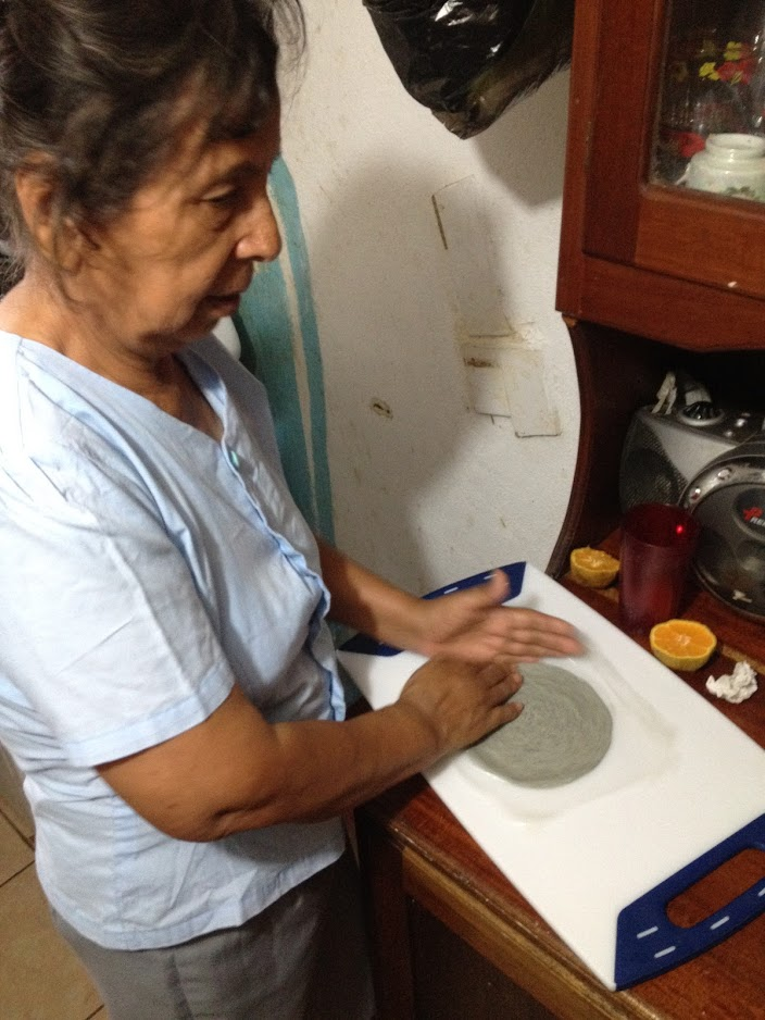 Norberta Pulido - An expert in the art of hosting and nixtamal (tortilla-making)