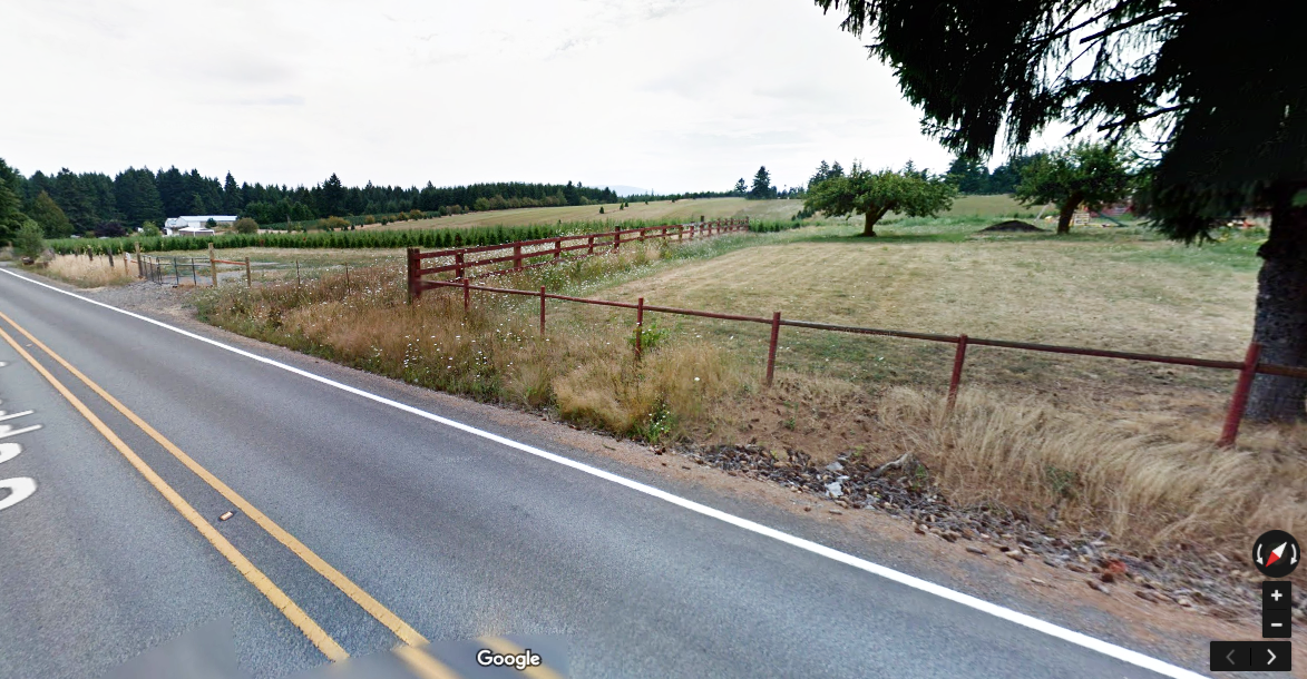 Beavercreek, Oregon - potential fedge along this northern edge.