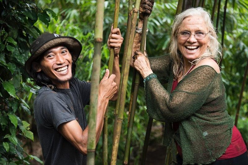 Penny-Livingston Stark - Few have come as close to the amount of impact one has had on the permaculture community. Penny was a teacher and mentor during my permaculture teacher's training at her farm Regenerative Design on in Bolinas, CA