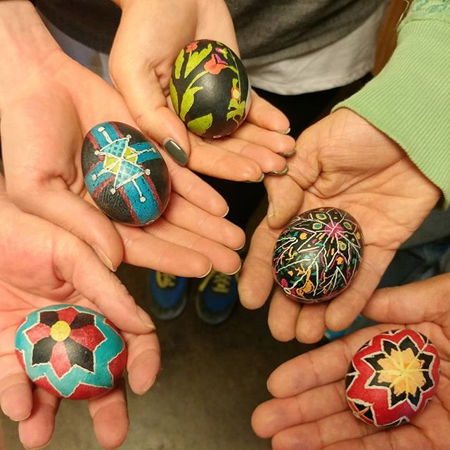 Look at what my students did! #pysanky