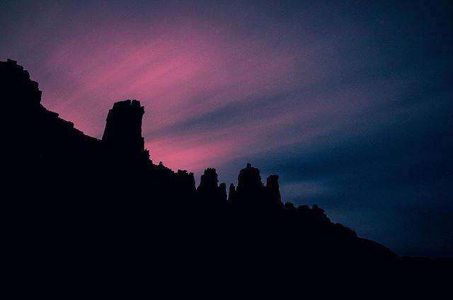 Dusk Till Dawn #moab #fishertowers #utah #night #longexposure #glow #silhouette #dusk #night #clouds #hike #travel #explore #discover #adventure #wild #nature #outdoors #travelmore #travelbug #igmasters #naturephotography #landscape #getoutdoors #getoutside #nature_lovers #nature_shooters #nightscape #ajwilliamsphoto