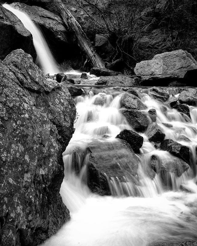 Throw Back Thursday Almost 10 years ago to the date. I took this photograph in May of 2008. This was one of my very first long exposure photographs. It's riveting to look back on my old work and see how far I've come. Looking forward to what I'll create in the next 10 years! #tbt #throwbackthursday #oldwork #10yearsago #timeflies #oldphoto #bw #blackandwhite #blackandwhitephotography #monochromatic #nature #waterfall #stone #rock #stream #mountains #colorado #outdoors #nature #adventure #explore #discover #travel #seetheworld #longexposure #wild #water #waterfalls #past