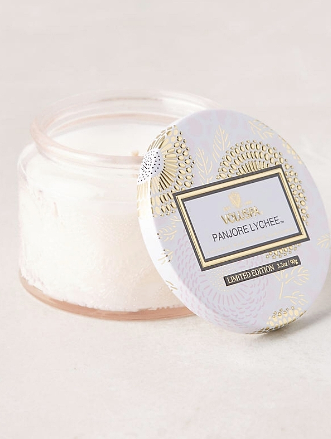 Candle - These small candles are perfect for the holidays and make for such pretty room decor!