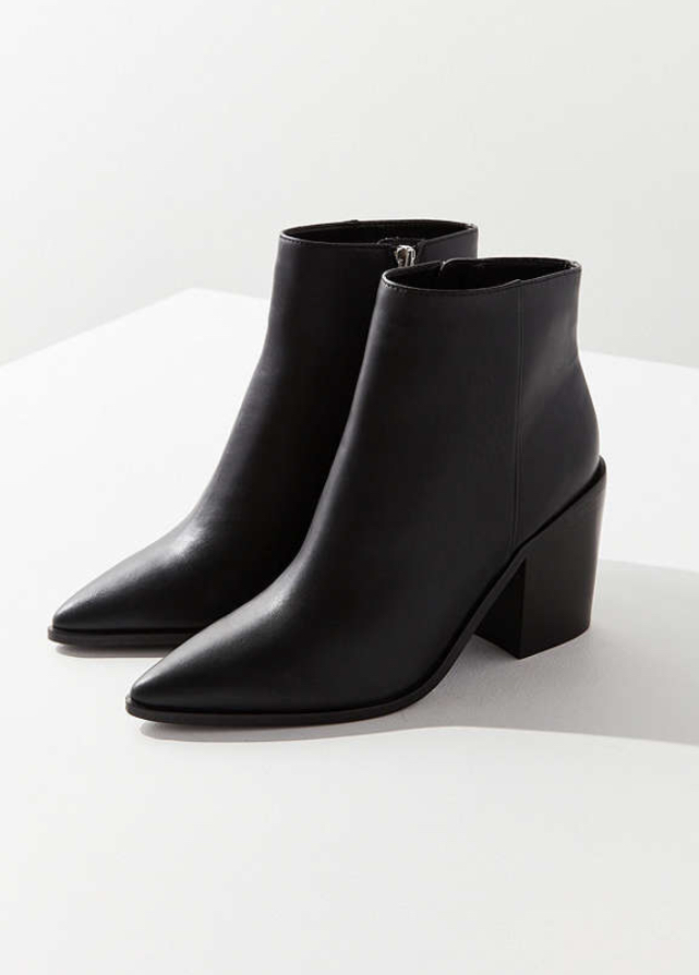 - These are the perfect, black boots!