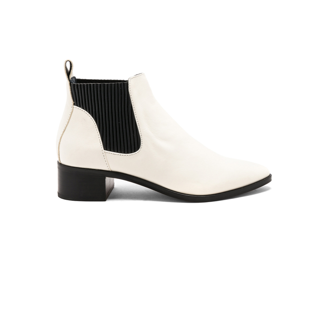 - I love these boots with the black detailing!