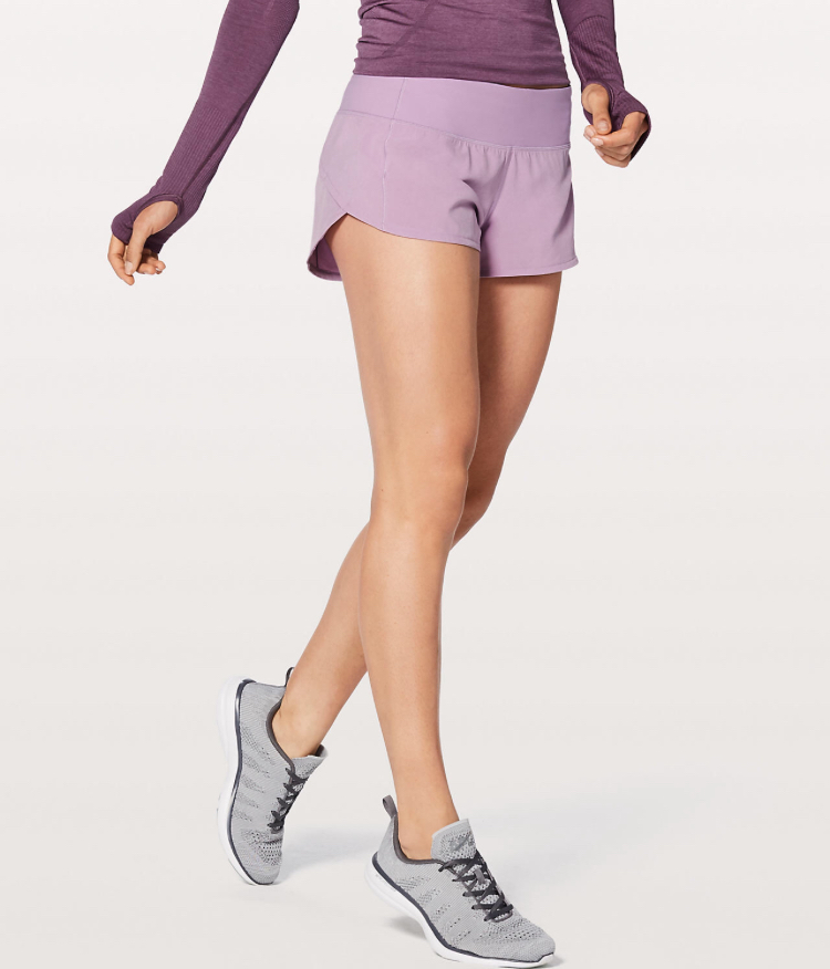 Athletic Shorts - I love these Lululemon shorts! They look so cute with leotards or any workout top!
