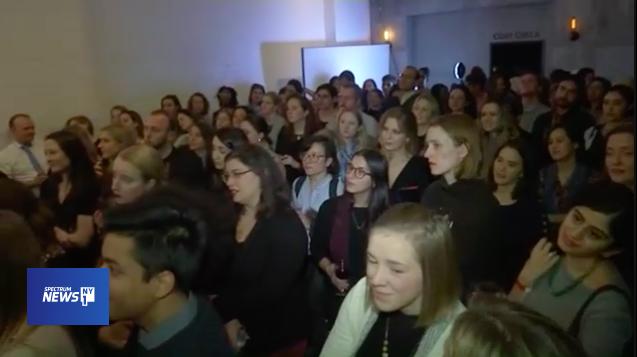- NY1: Cynthia Nixon Headlines Political Fundraiser in Brooklyn 1.19.18