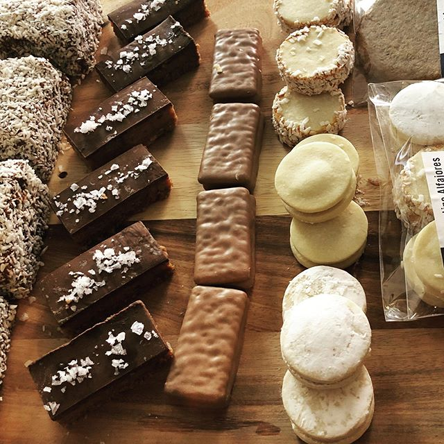 Come try some of our specialties! Tim Tams, Alfajores, Lamingtons and more! All unique to Southern Cross coffee. @southerncrosscoffee