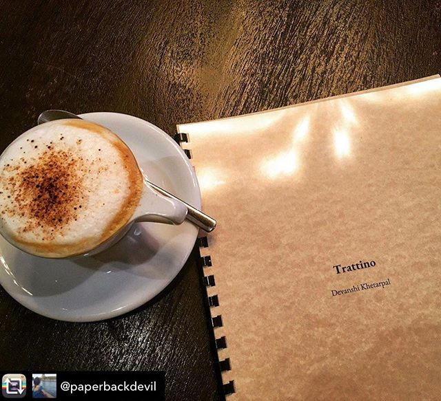Nothing like a great Cappuccino as a study aid! Thanks 📸: @paperbackdevil for a great photo!