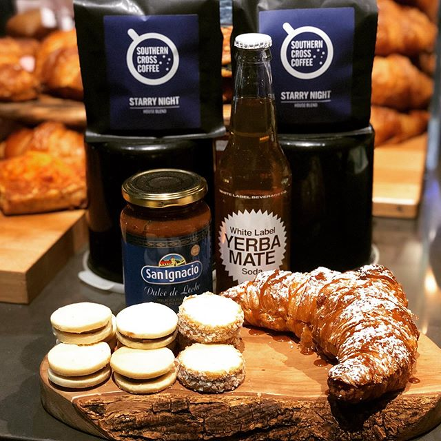 Want something unique? Cool off with our Mate Soda or treat yourself to some sweet Argentinian treats! @southerncrosscoffee
