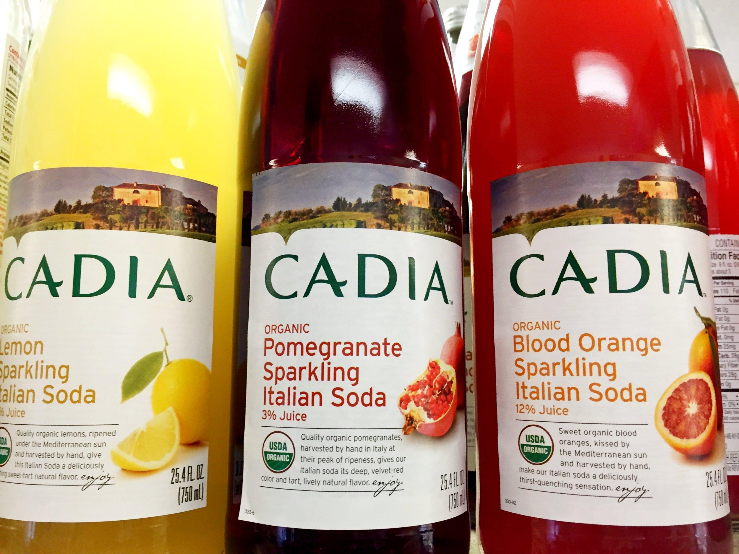 Cadia Sparkling Soda