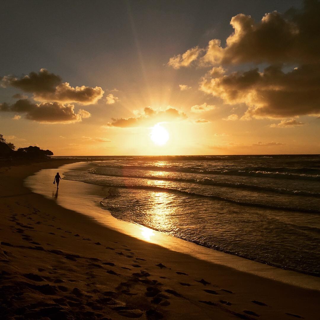 Sunrise Kealia Beach