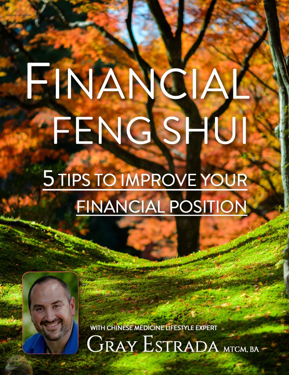Financial Feng Shui Ebook