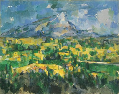 Cezanne, Mont St. Victoire, 1 of 60 versions